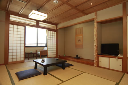 Japanese-style Room (With Bath and Toilet)